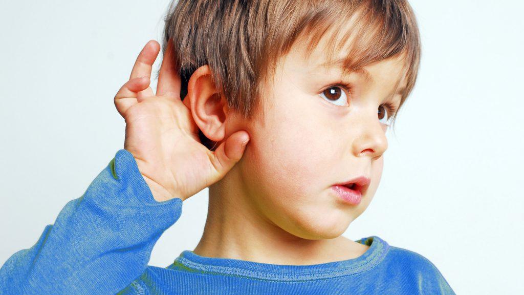 Screening sluchu u dětí