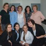 Tým sester a recepčních na akci Modřanské odpoledne ve FortMedica